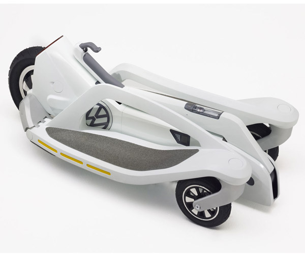 """VW Electric """"Scooter"""" is Cool and Compact"""