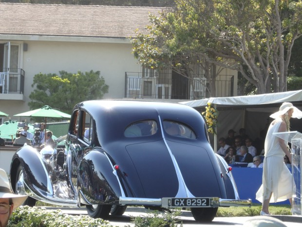 1932 Rolls Royce Phantom coach built by Figoni & Falaschi