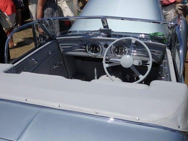 Delahaye 145 Franay Cabriolet Interior