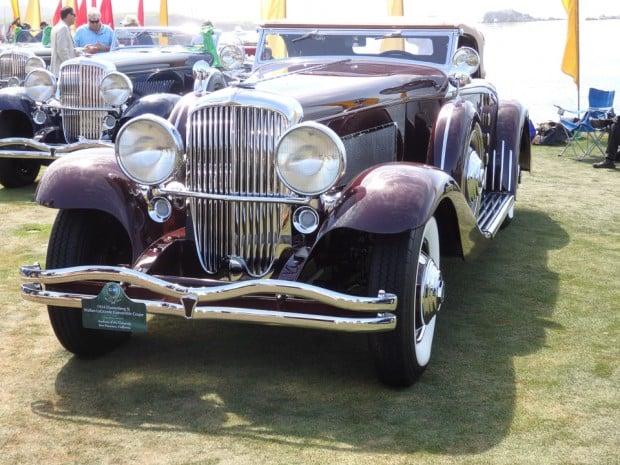 1934 Duesenberg Model J Walker-LaGrande Convertible Coupe
