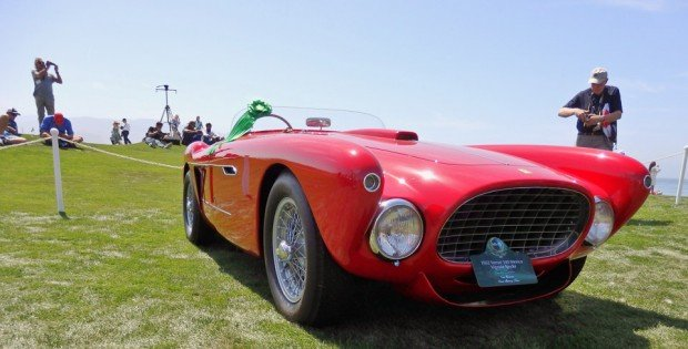 1952 Ferrari 340 Mexico Vignale Spyder