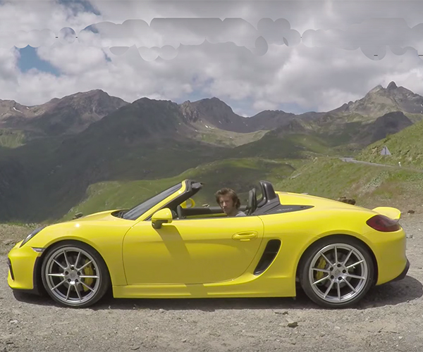 On the Road with the 2016 Boxster Spyder
