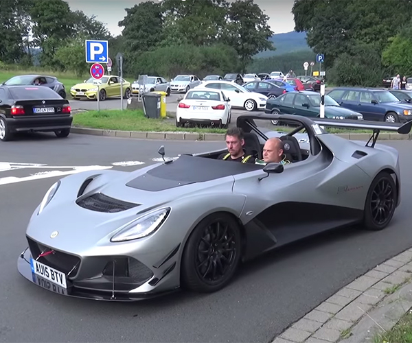 A Lotus 3-Eleven Rips and Roars Around the 'Ring