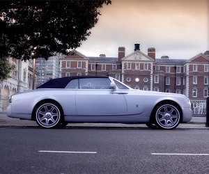 The Dropdead Hot Phantom Drophead Coupe