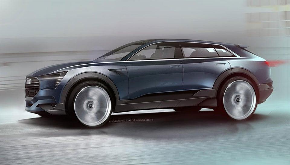 Audi E-Tron Electric SUV Concept: Production in 2018