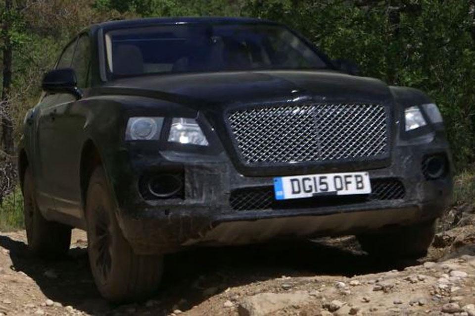 Bentley Bentayga SUV Goes Off-Road, Looks at Home