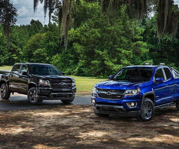 Chevy Colorado Z71 Trail Boss and Midnight Editions