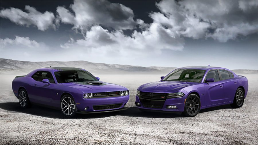 Iconic Plum Crazy Color Comes Back to Dodge