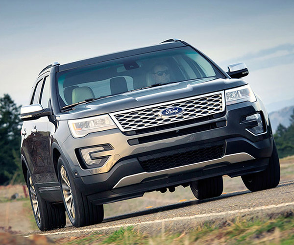 Ford Explorer Goes Platinum in Latest Update