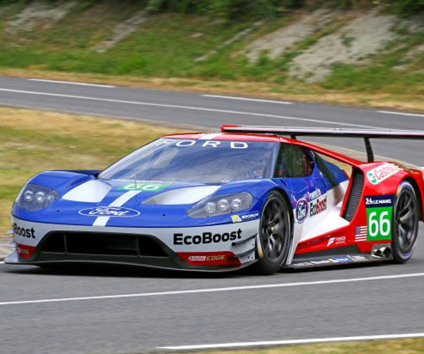 Ford GT LM Test Video Shows the Car's Early Days