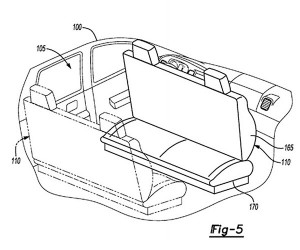 Ford Patent Shows Reconfigurable Seats for Autonomous Cars