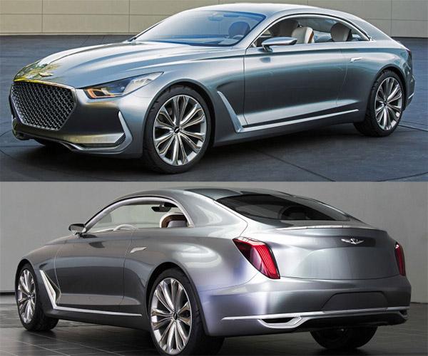 Hyundai Vision G Coupe Revealed
