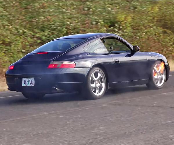 Can An iPhone Stop a Speeding Porsche?