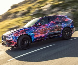 Jaguar F-Pace Marries SUV Abilities with Sports Car DNA