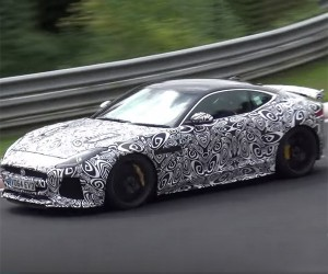 Watch the Jaguar F-Type SVR Zoom Around the Ring