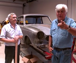 Leno Shows off Latest Project Cars