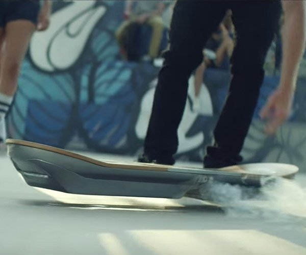 Lexus Hoverboard Homage to Back to the Future 2