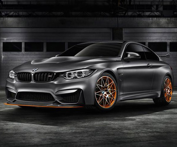 Water-Injected BMW Concept M4 GTS Ready for the Track