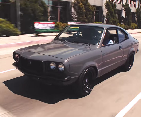 1973 Mazda RX-3 Restomod: '70s Cool