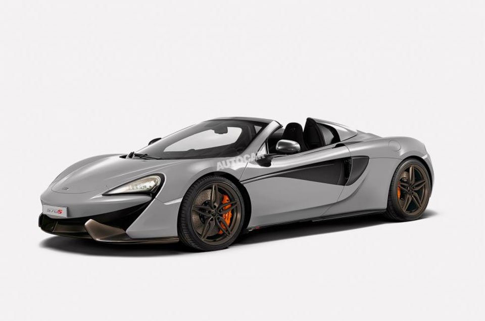McLaren 570S Spider Likely for 2017