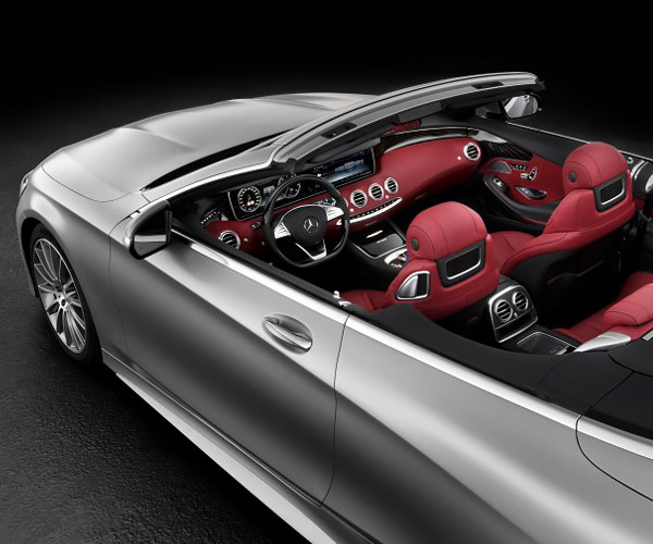 Mercedes S-Class Cabriolet to Return After 44 Years