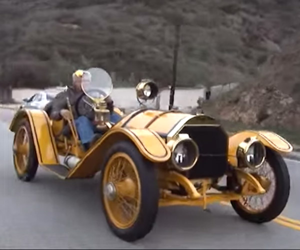 Pre-WWI Mercer Raceabout Could Hit 100 mph