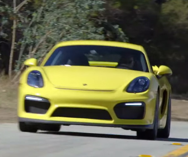 Porsche Cayman GT4 Put to the Test on the Track