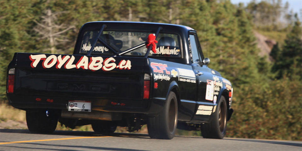 600-hp Road Racing Truck Tears up Newfoundland