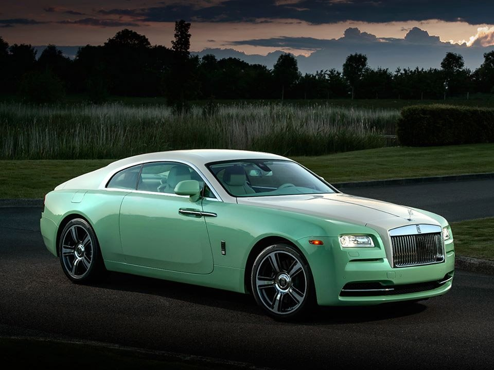 Rolls-Royce Wraith Jade Pearl Edition: Green Overload