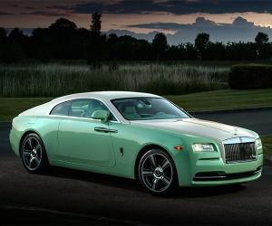 Rolls-Royce Wraith Jade Pearl Edition: Green Overload