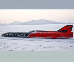 Venturi VBB-3 EV Sets Land Speed Record for Its Class