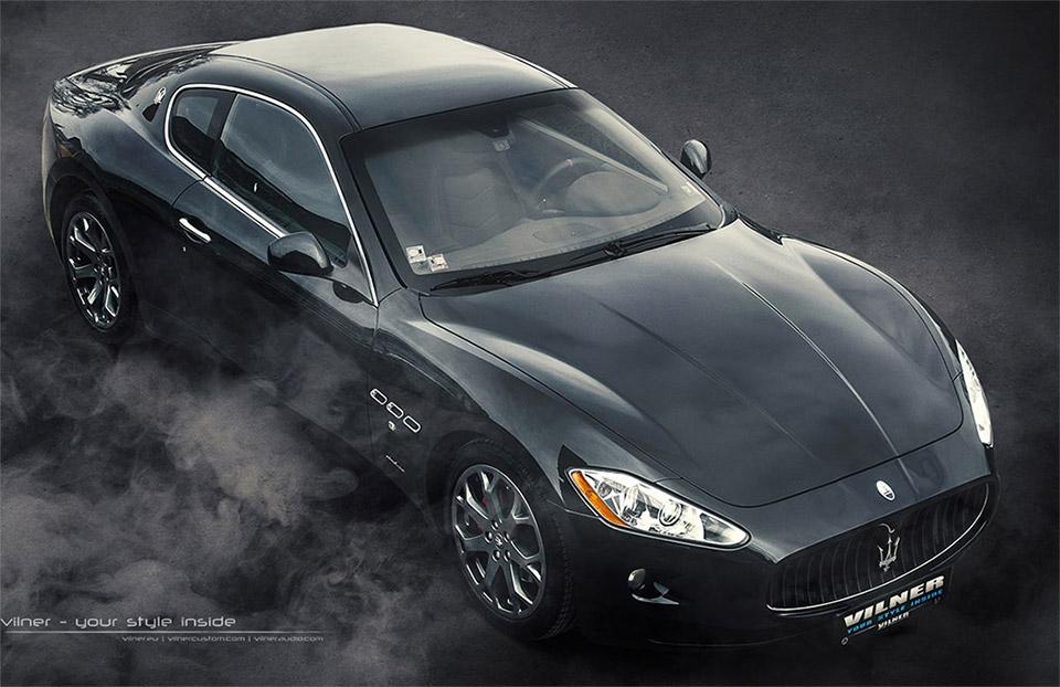 Vilner Tricks out Maserati GranTursimo Interior