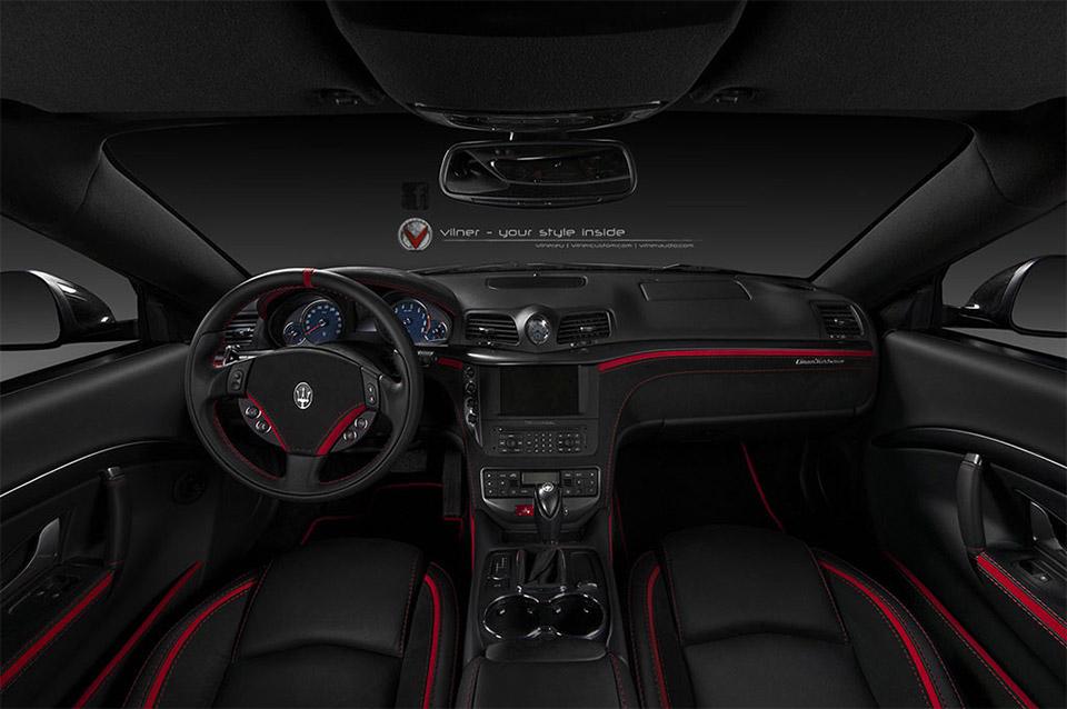 Maserati Ghibli Price >> Vilner Tricks out Maserati GranTursimo Interior - 95 Octane