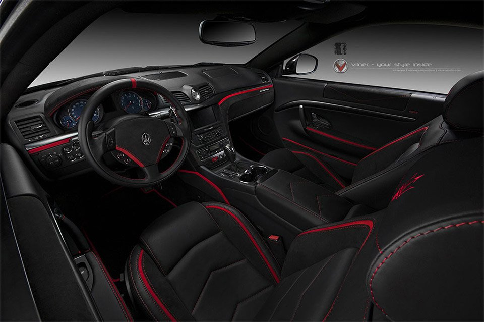Vilner Tricks Out Maserati Grantursimo Interior 95 Octane