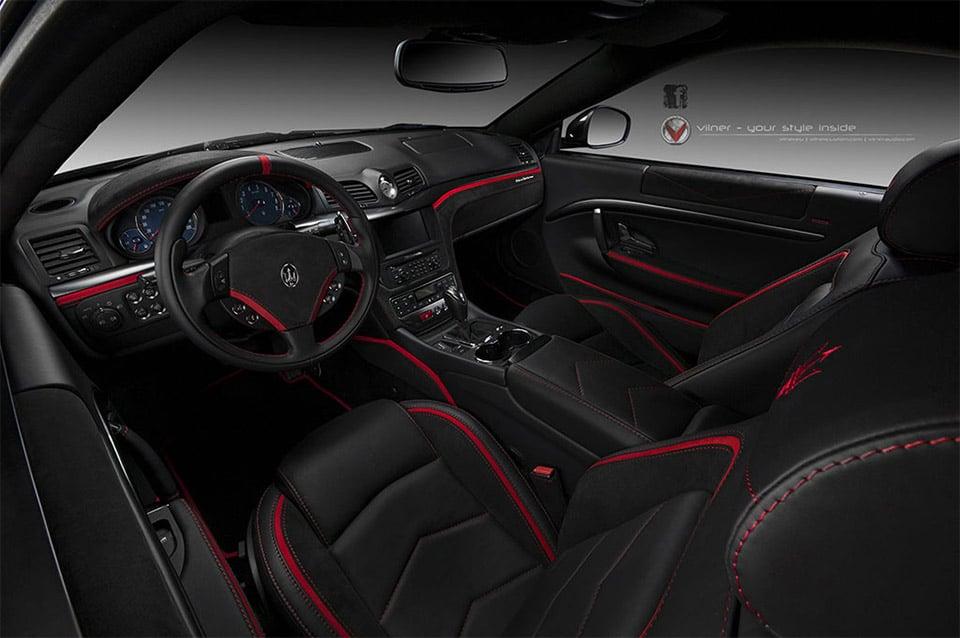Maserati granturismo black interior - Turismo interior ...