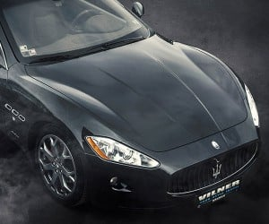 Vilner Tricks out Maserati GranTursimo Interior