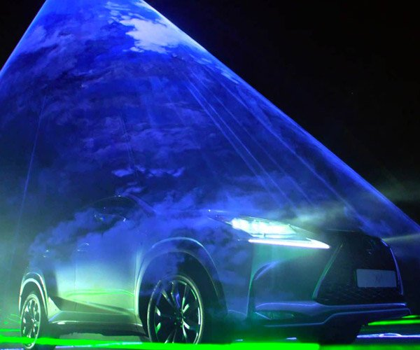 will.i.am and Lexus Play Music with Lasers and Cars