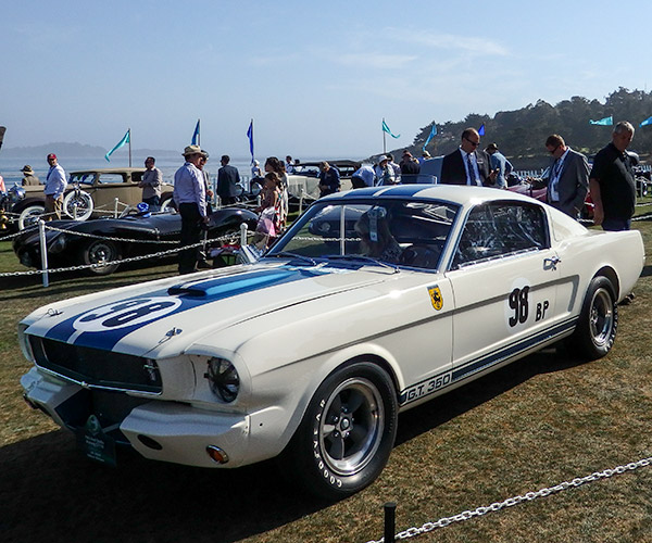 Carspotting: 1965 Mustang Shelby GT350