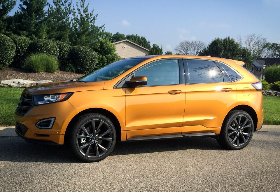 car titanium awd edge driver photo and original reviews review v test ford s