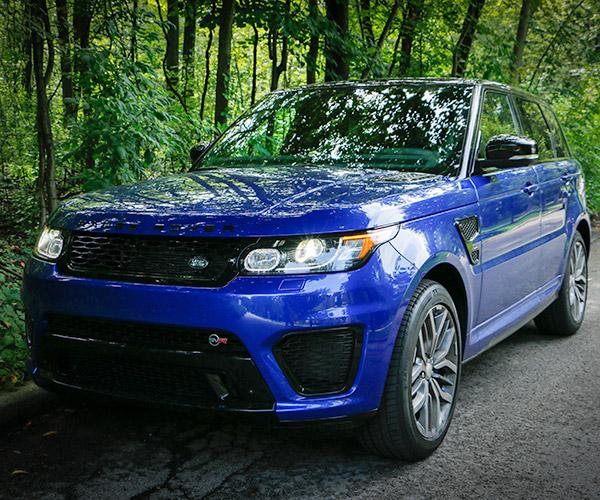 Review: 2015 Range Rover Sport SVR