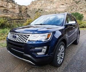 We Explore More in the 2016 Ford Explorer Platinum