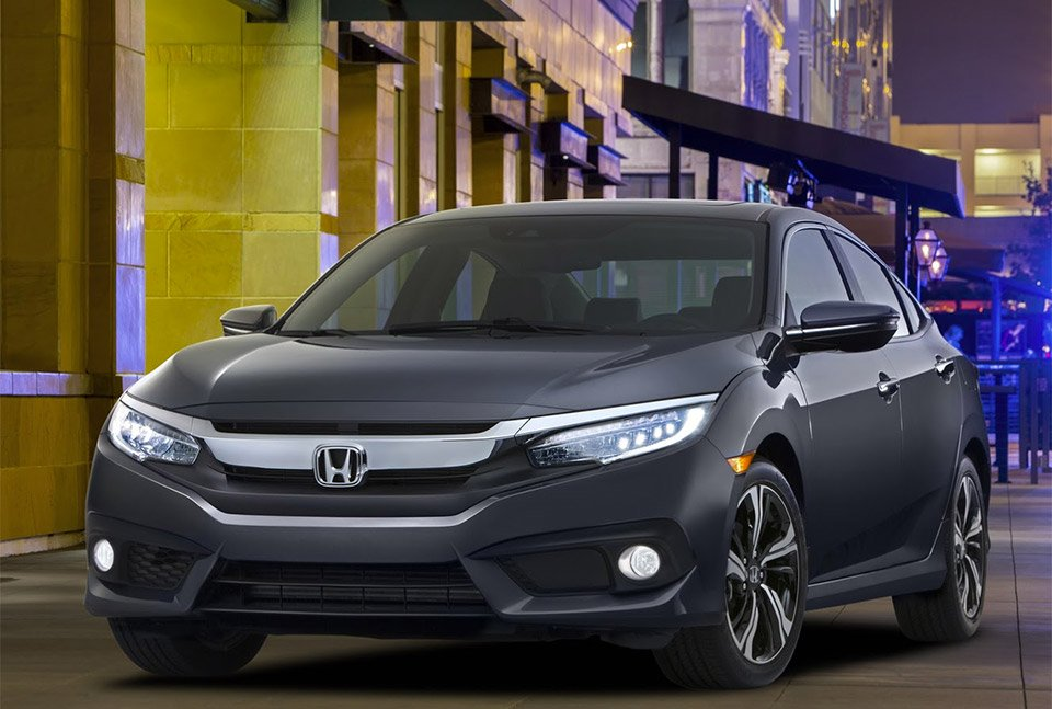 2016 Honda Civic Sedan Brings First Honda Turbo Engine to U.S.