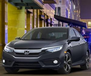2016 Honda Civic Sedan Brings First Honda Turbo Engine to U.S.