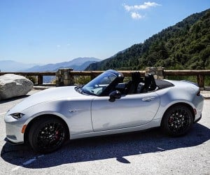 Mazda MX-5 Twin Fiat 124 Spider Spied