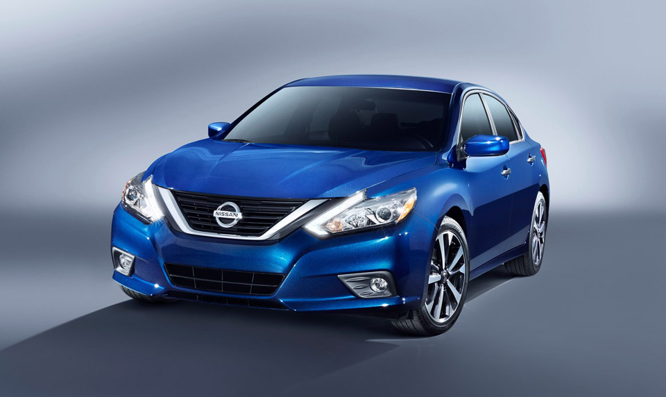 2016 Nissan Altima Gets Refresh and New SR Model