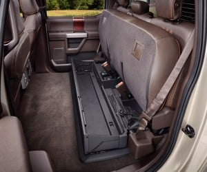 2017 F-350 Super Duty King Ranch interior
