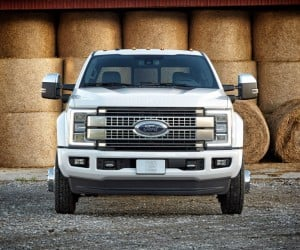2017 Ford F-450 Super Duty Platinum Crew Cab 4x4