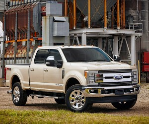 2017 Ford F-Series Super Duty Is Stronger and Lighter