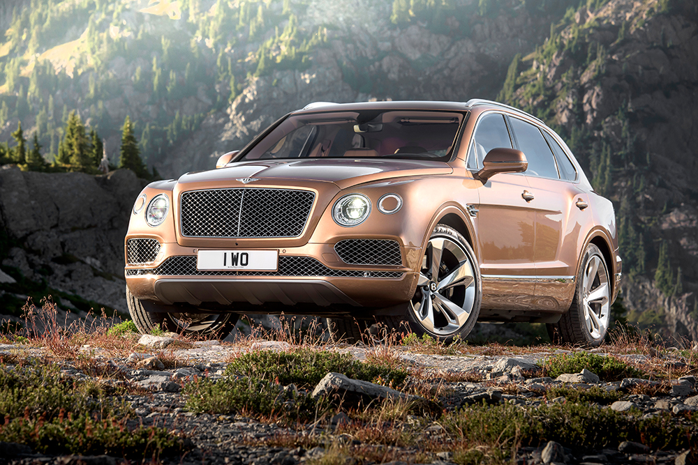 Bentley Goes off the Beaten Path with the Bentayga