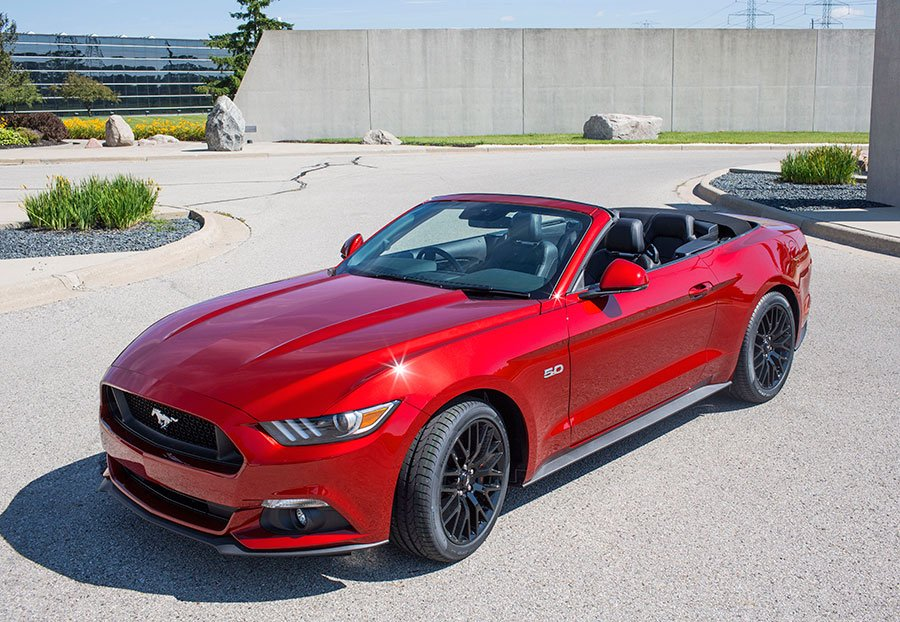 Right-Hand Drive Ford Mustang Production Begins in Michigan